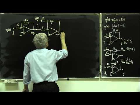 Лекция 213. Решение дифференциального уравнения на ОУ