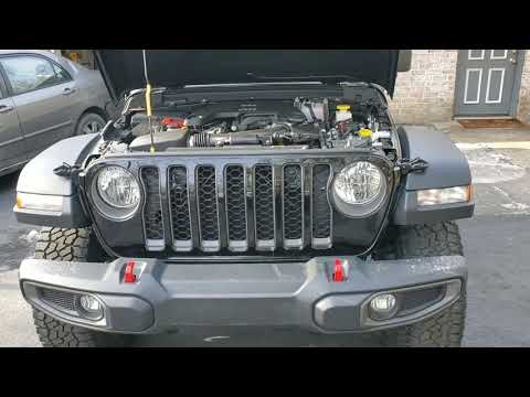My 2020 jeep Gladiator is here,i put 92 miles on it.