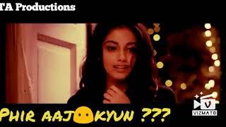 WhatsApp status video | Dil ne kaha tha na tadpega | palak muchal |