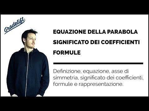 Equazione della Parabola Spiegazione e Formule from YouTube · Duration:  14 minutes 2 seconds