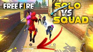 Impossible AWM + Winterland Shotgun Gameplay SOLO VS SQUAD - Garena Free Fire