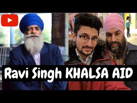 Donating my YouTube Salary to Khalsa Aid Ravi Singh
