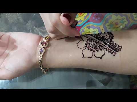 Latest Mehndi Tattoo Design #02 | Mehndi Design of Rose Flower | Mehndi Designs By Mehndi Shendi