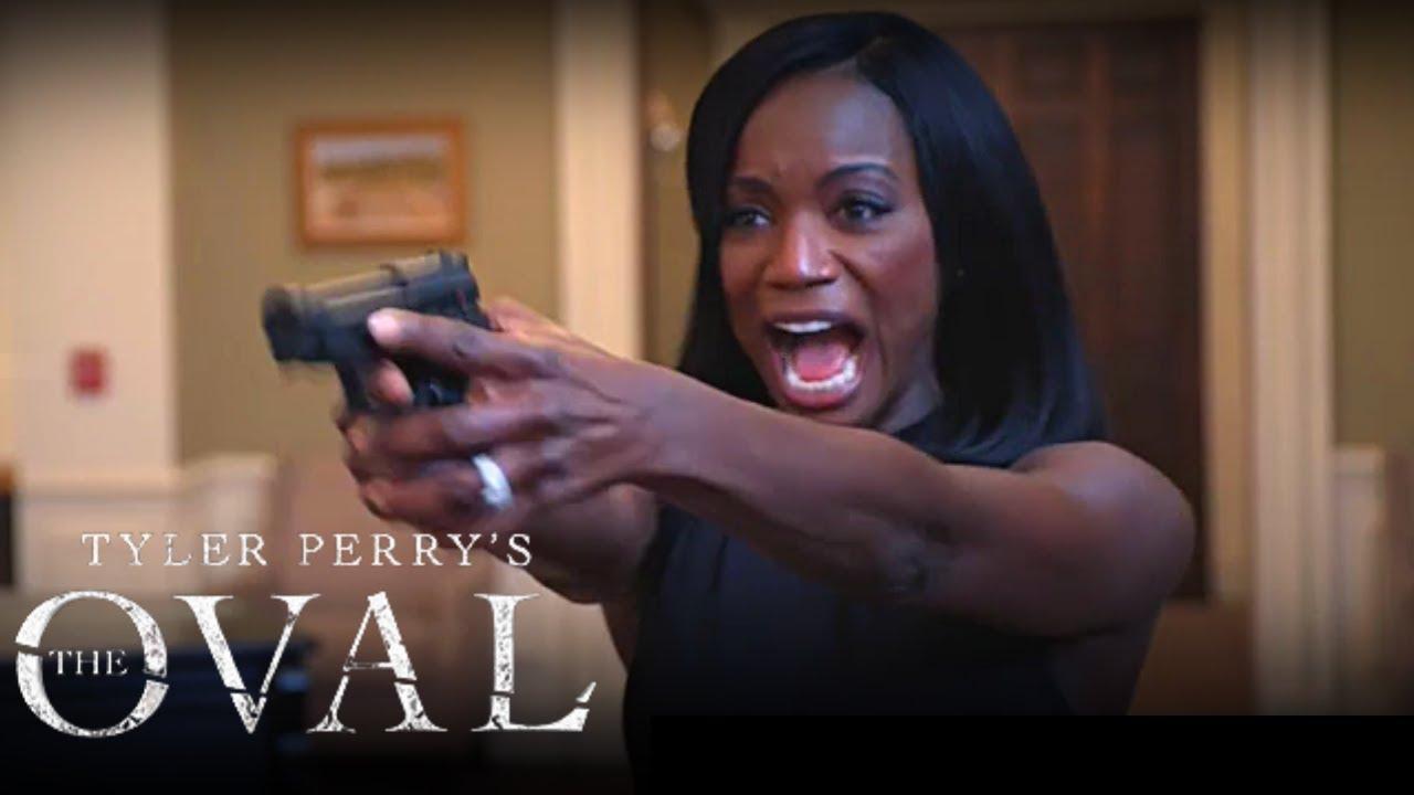 Download Priscilla Sh^t First Lady & OMG Sam | Tyler Perry's The Oval| Season 2 Episode 20 | Scene Breakdown