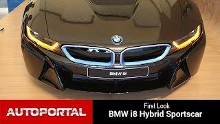 BMW i8 Hybrid Sportscar First Look  - Autoportal