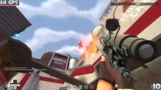 Team Fortress 2 Gameplay: Sniper [LONG] - Control Points