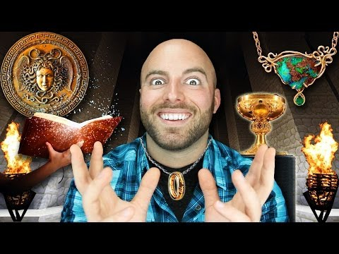 The 10 Most FASCINATING MYTHOLOGICAL OBJECTS of All Time!