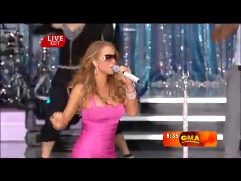 Mariah Carey Shuts Down Backup Singer Adlib