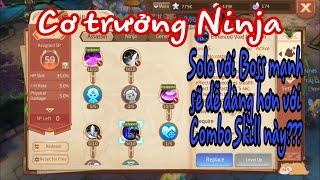 Xây dựng chiêu thức, kỹ năng Hệ phái Sát thủ Ninja - Luyện tốt 02 Combo sẽ cực bá đạo Laplace M(VN)