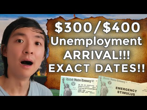 ARRIVAL!! $400 UNEMPLOYMENT Benefits Extension | EXACT DATES Timeline SECOND Stimulus Check UPDATE