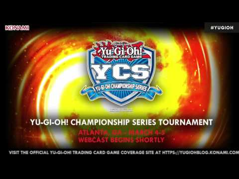 YCS Atlanta, March 4, 2017.  Round 1-6. Official Yu-Gi-Oh! TRADING CARD GAME