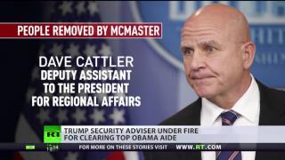 Trump security adviser under fire for clearing top Obama aide