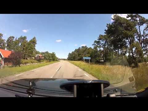 Öland: Ottenby till Borgholm, via östra sidan.