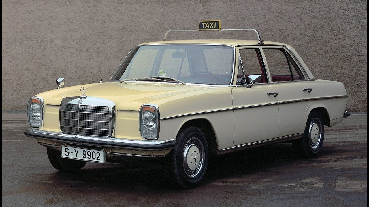 mercedes taxi stroke eight w115 of the 1970s youtube. Black Bedroom Furniture Sets. Home Design Ideas
