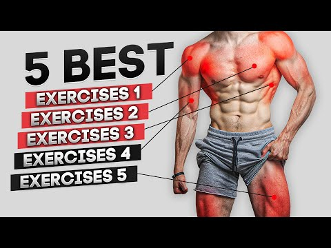 The ONLY 5 Home Exercises You Need To Build Muscle