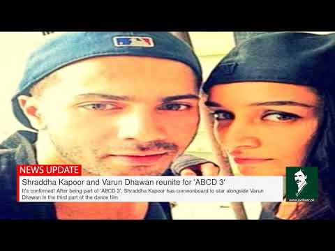 Shraddha Kapoor and Varun Dhawan reunite for 'ABCD 3' Mp3