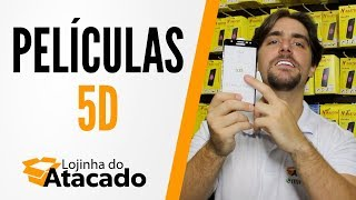 Lojinha do Atacado - 062 - Películas 5D ( 3D e 4D) - Novidade!