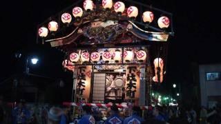 鹿沼ぶっつけ秋祭り 2011年 石橋町・下材木町屋台の繰り出し