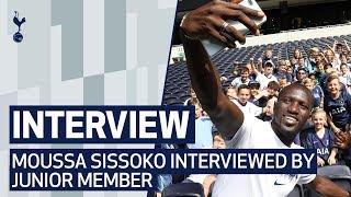 SISSOKO REVEALS HIS SONNY HANDSHAKE | Junior Member interviews Moussa Sissoko ahead of Arsenal!