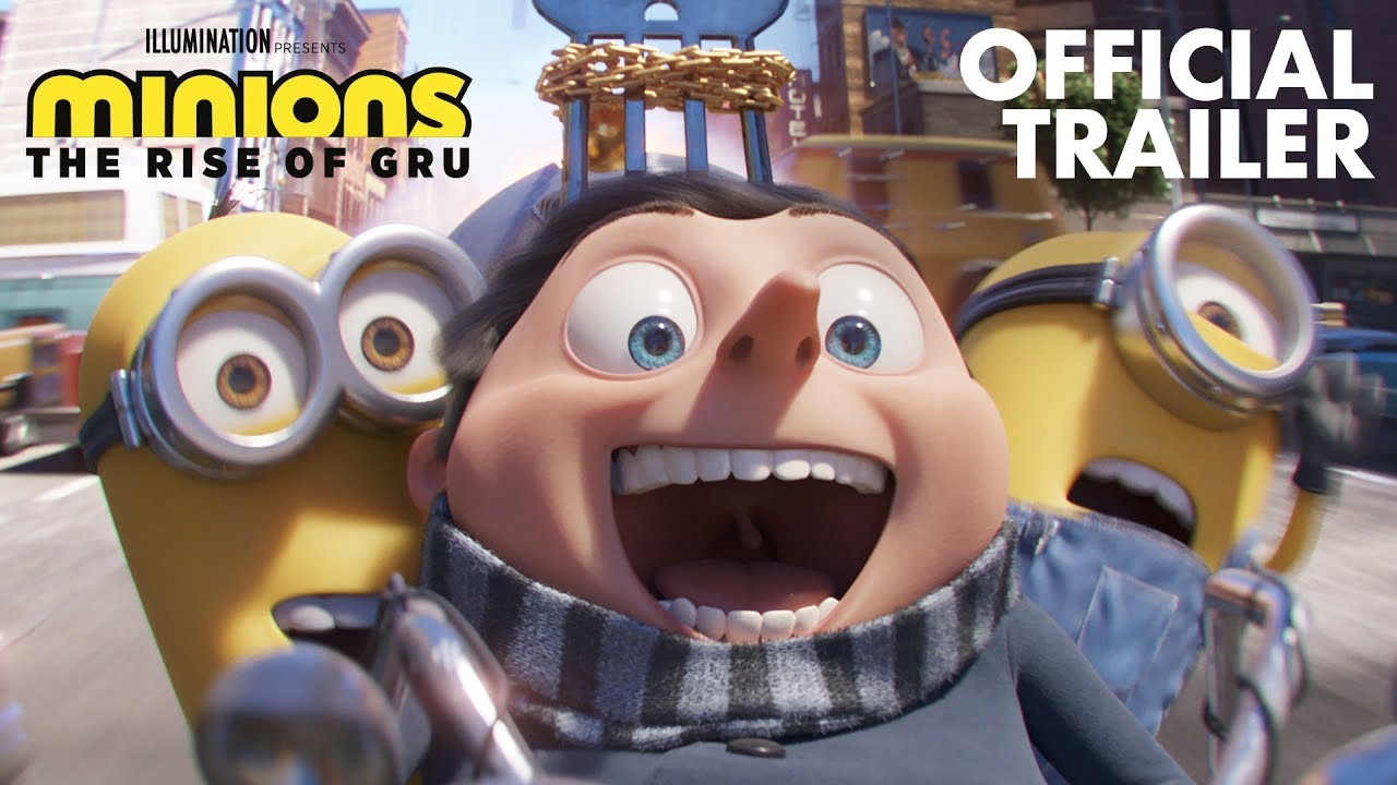 Minions: The Rise of Gru - Official Trailer Watch Online