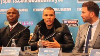HEATED COMEDY !! CHRIS EUBANK JR & GARY SPIKE