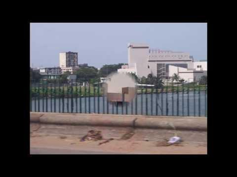 Abidjan, Treicheville, palais de la Culture