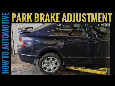 How to Adjust the Park Brake Cable on a 2007-2011 Honda Civic