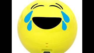 Promate Wireless Bluetooth Speaker, Cute Emoji Portable Bluetooth Speaker