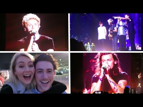 VLOG: Seeing One Direction with Josh - OTRA Tour London O2, 30.09.15