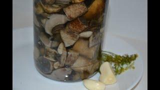 Маринованные лесные грибы!!! Очень вкусно и просто. Проверенный рецепт!!!