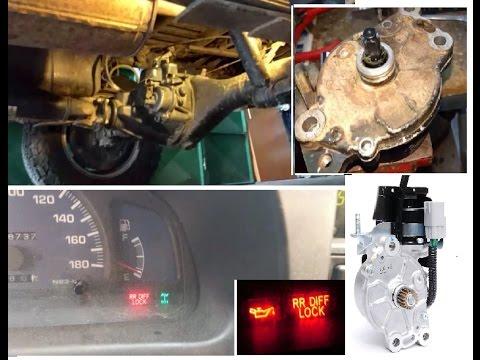 TOYOTA Hilux Rear Differential LOCK  Repair  Reparar