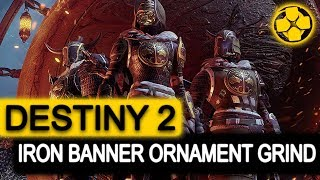 Destiny 2 🔴 Iron Banner | Season 2 Ornament Grind | PC Gameplay 1080p 60fps