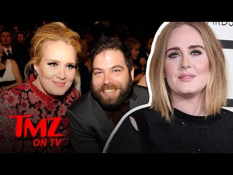 Adele Is Single, After Filing For Divorce | TMZ TV