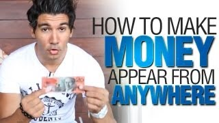 Cool Magic Tricks: How To Make Money Appear From A Drink Coaster!