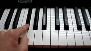 Elfen Lied Lilium Piano Tutorial (Slow)