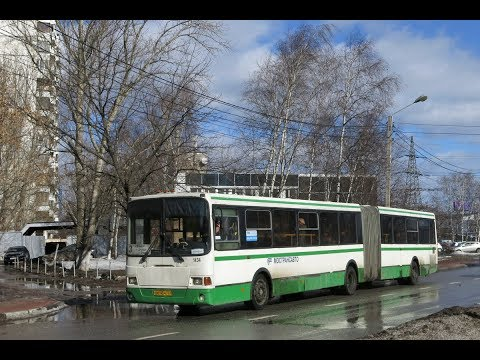 Поездка на автобусе ЛиАЗ-6212.01 №1434 ГОС ЕК43450 №3 Ст.Химки-Ул.Дружбы-Ст.Химки