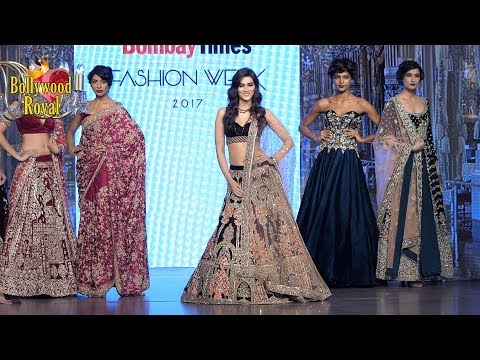 Kirti Sanon Walks Ramp At Bombay Times Fashion Show 2017 For Wedding Collection 'MIRABELL' Part -3