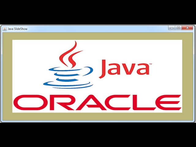 JAVA - How To Make Image Slideshow In Java Swing [ with source code ]