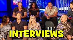 SUICIDE SQUAD Cast Interviews - Margot Robbie, Cara Delevingne, Jared Leto, Will Smith