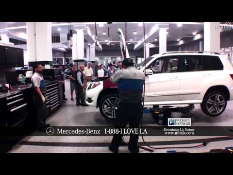 Downtown la motors mercedes benz premier express youtube for Mercedes benz downtown la service