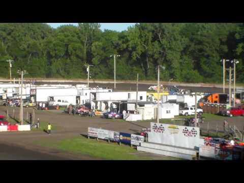 Late Model Heat 1 @ Hamilton County Speedway 07/01/17