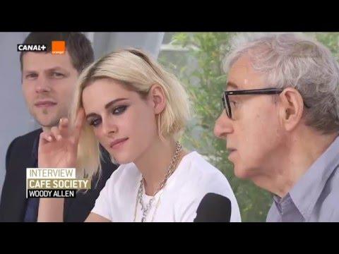 Entrevista de Kristen Stewart e elenco de Café Society após o photocall  em Cannes 2016 ll!
