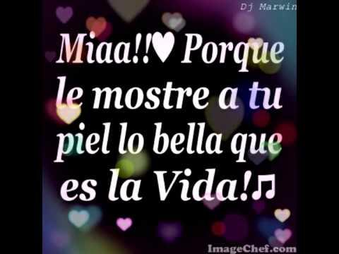 Mia Eddie Santiago Salsa ♪♫Dj Marwin♪♫