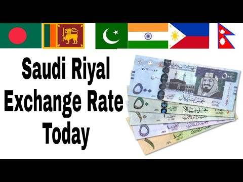 Tody Saudi Riyal Rate Arabia New Currency 2019 Exchange