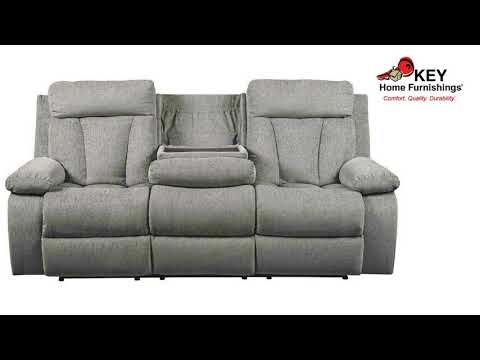 Ashley Mitchiner Reclining Sofa With Drop Down Table 7620489 Key