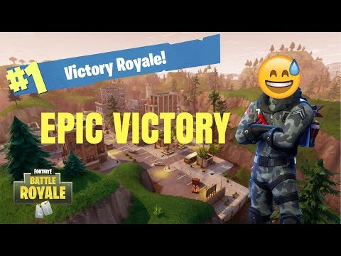 SOLO *VICTORY* in Fortnite: Battle Royale!