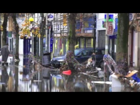 Cumbrian Floods 2009 - Geography Case Study