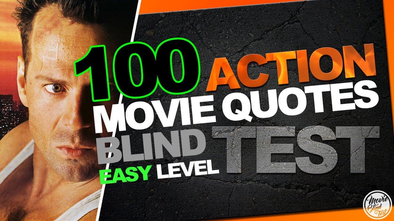 BEST 100 ACTION MOVIE QUOTES BLIND TEST (Biggest Easy Film