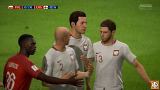Fifa 18 | World Cup Russia 2018 | RD of 16 | England vs. Poland | Spartek Stadium | XB1