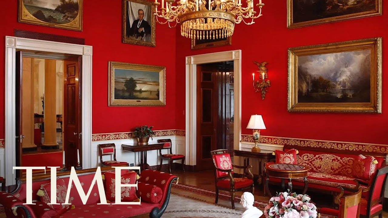 First Lady Melania Trump Gives The White House A Makeover Time